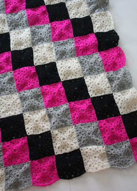 Crocheted blanket  #crochet #blanket