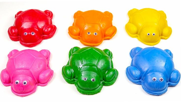 Learn Colors And Sea Animals Names With Play Doh Turtles – Video For Kids. youtu…
