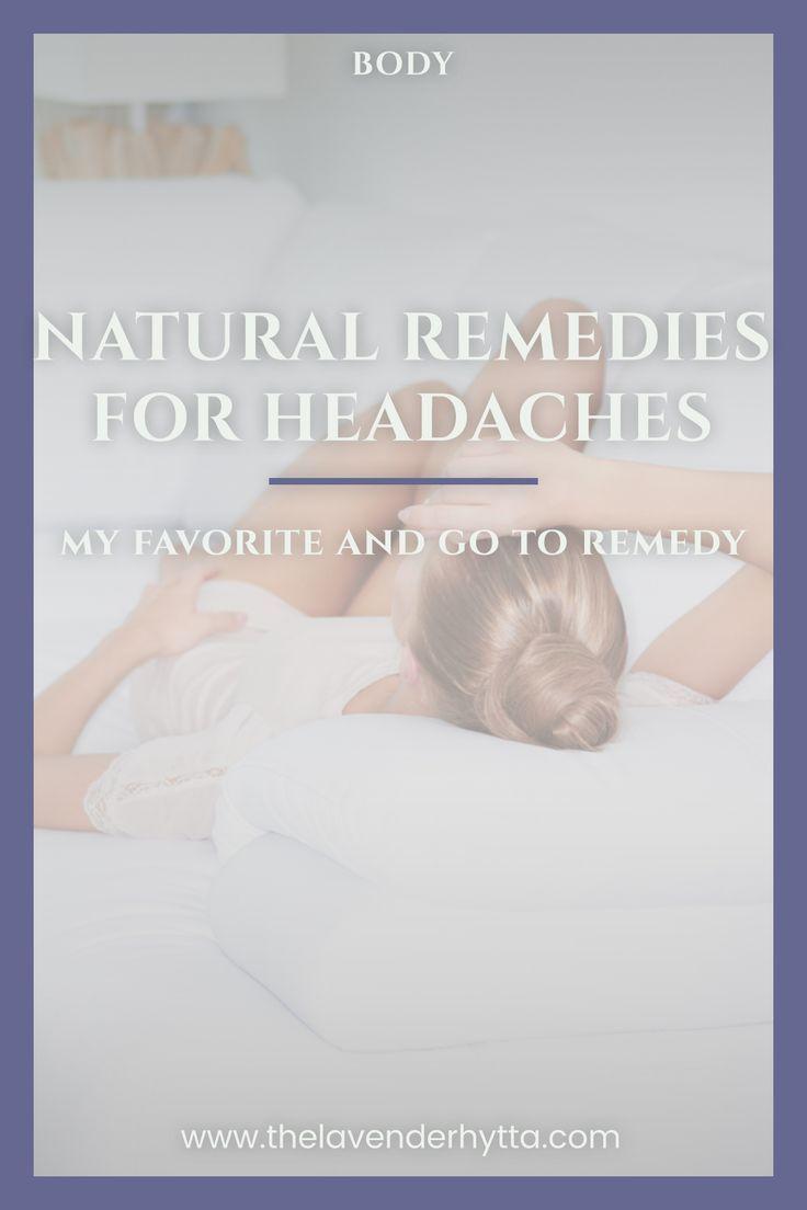Natural Remedy | Natural Remedies | Headaches | Natural Living | Healthy Life | via /lavenderhytta/