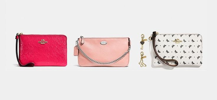 Coach Wristlets That We Love From Their USA Outlet Store