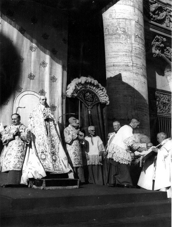 The pius xii encyclical virginity would