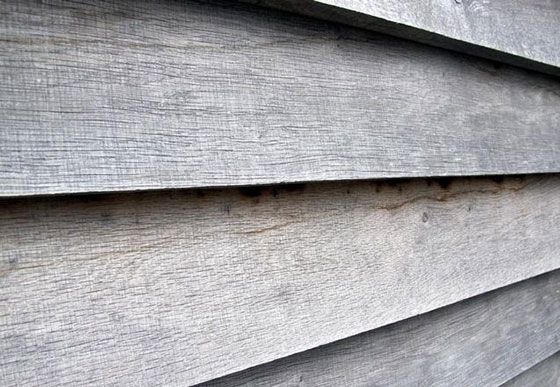 weathered oak - feathered-edge horizontal format - GreenSpec