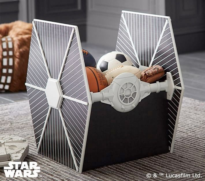 Add This AT AT Bookcase And TIE Fighter Storage To Your U0027Star Warsu0027