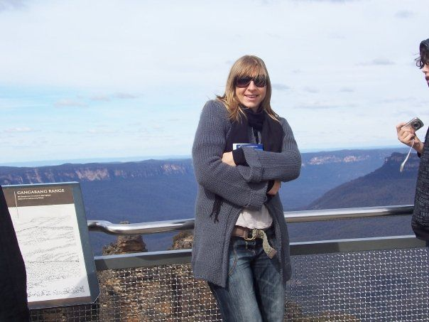 The blue mountains - freezing but beautiful