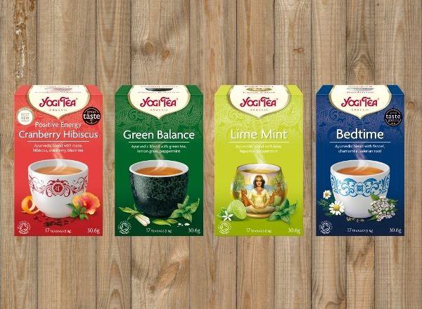 Kochamy herbatki Yogi Tea! Pełną gamę smaków i aromatów znajdziesz w sklepie internetowym zielonysklep.com!