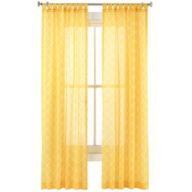 jc penney curtains yellow teal and grey room pinterest
