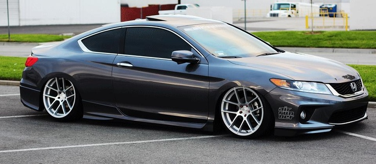 Air Runner System's 9th Gen 2013 Accord Coupe. so dope - via Air Runner Systems
