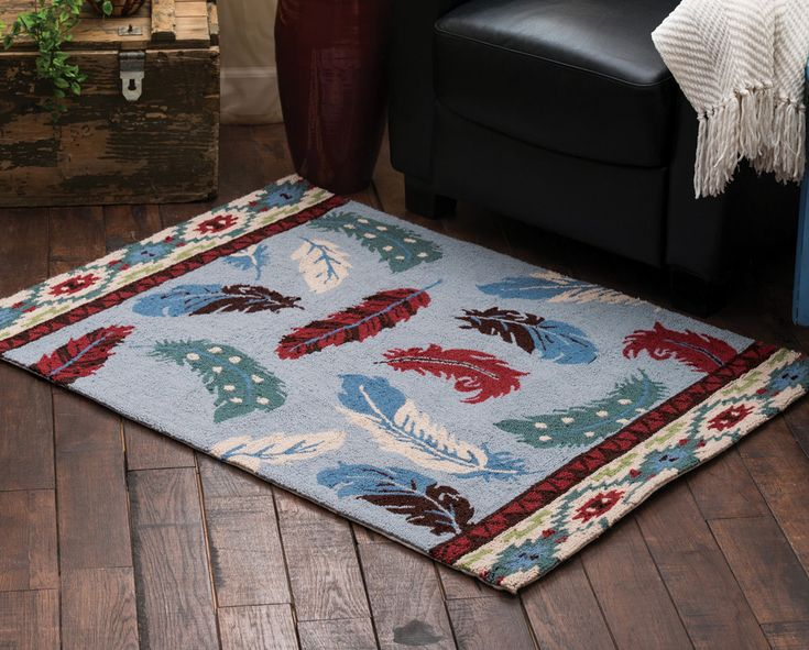 Feather Dance Southwestern Area Rug RugsAccent