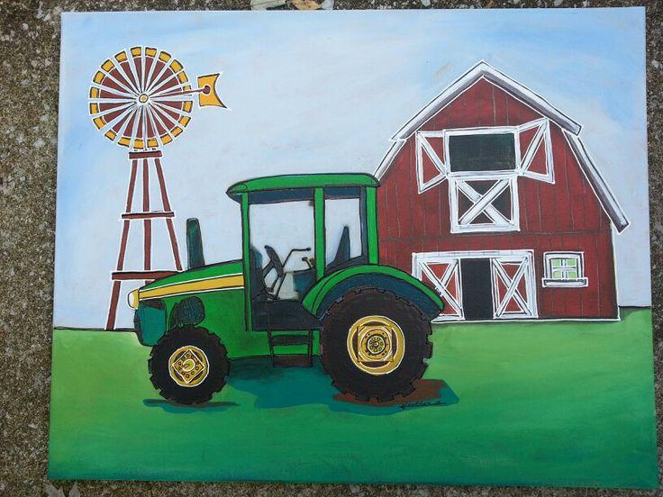 Farm tractor for max