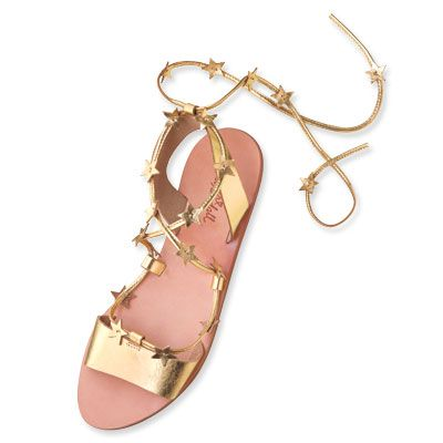 Loeffler Randall Leather Star Sandals
