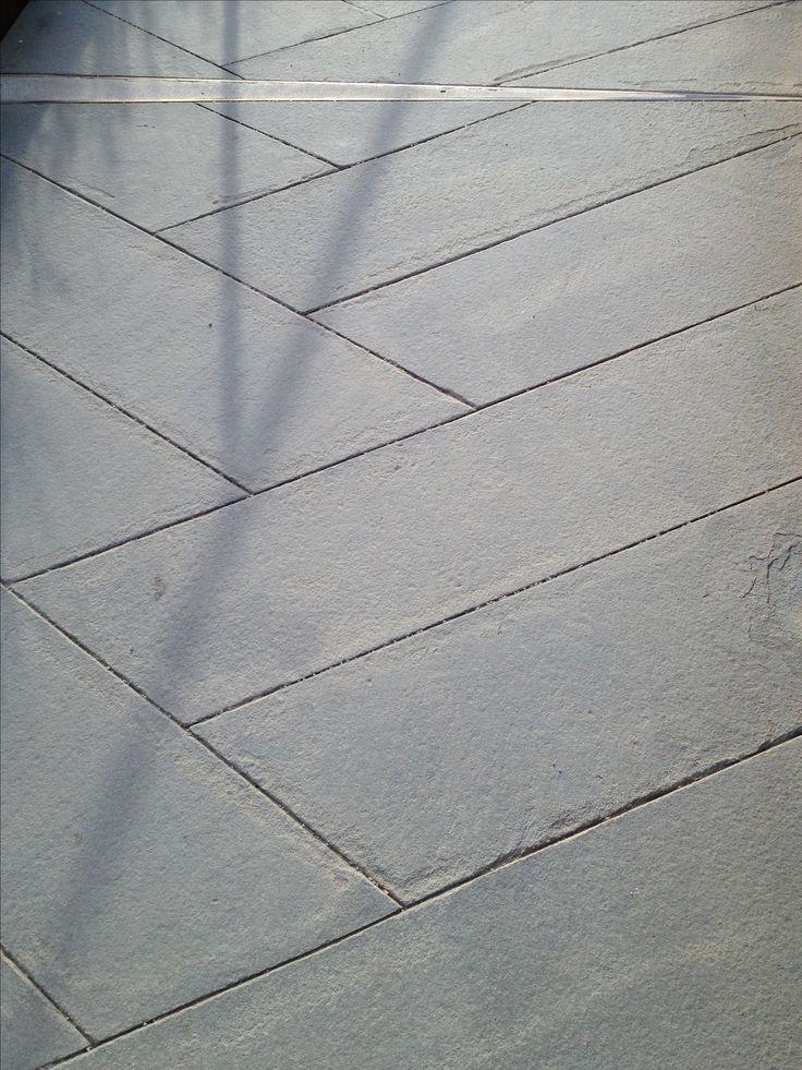 Black Stone Walkway