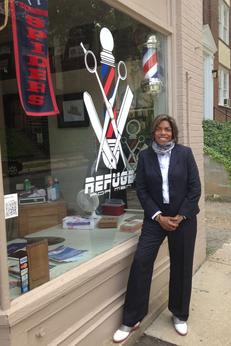 Dot the Barber… originally from Richmond, Virginia (RVA) returning here from Atlanta, Georgia and opening the doors of Refuge for Men (RFM) 4 years ago.  My training includes a BS in Nursing specializing in Neurosurgery, AA in Marketing and Business Management, and a Virginia Cosmetology license.