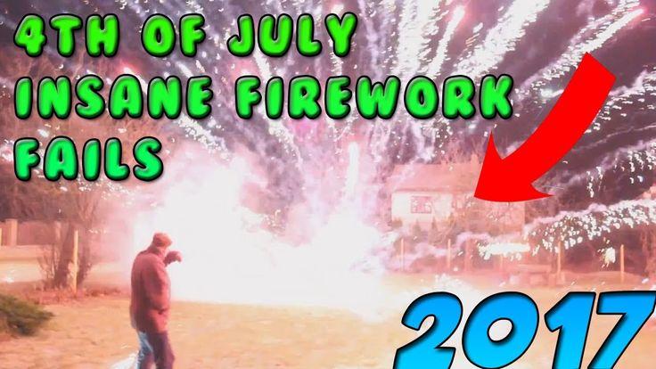 INSANE FIREWORK FAILS 2017!!!! (GONE WRONG)