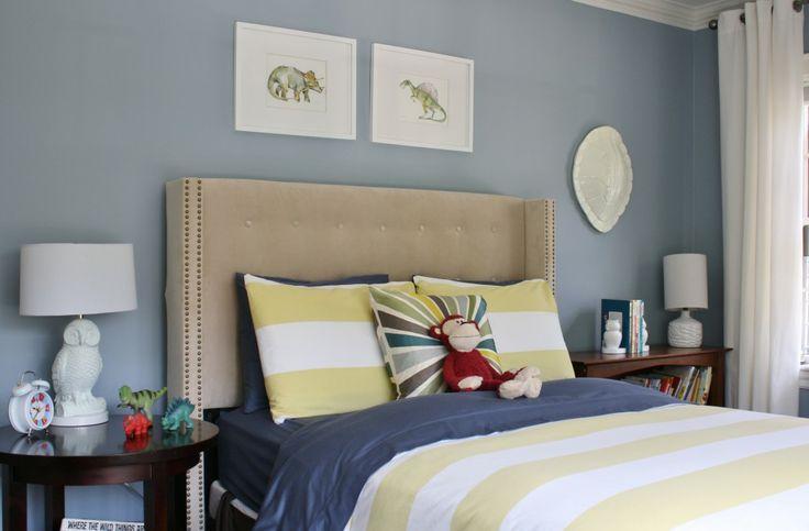 Decorating A Boy S Bedroom Winter Lake Benjamin Moore