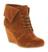 Office Dabble wedge Tan suede £75