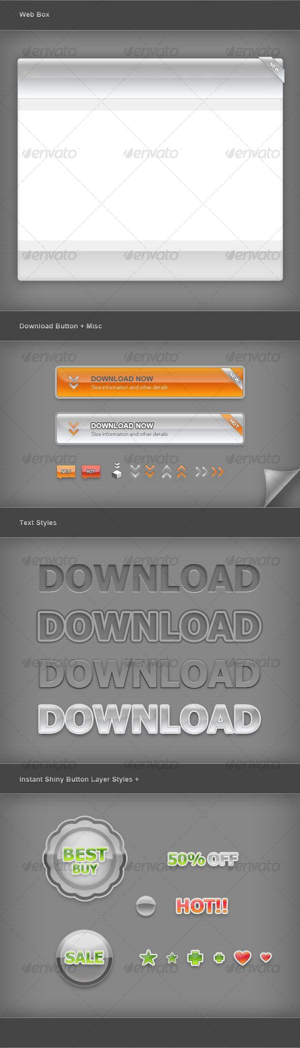 Web Graphic Elements 01