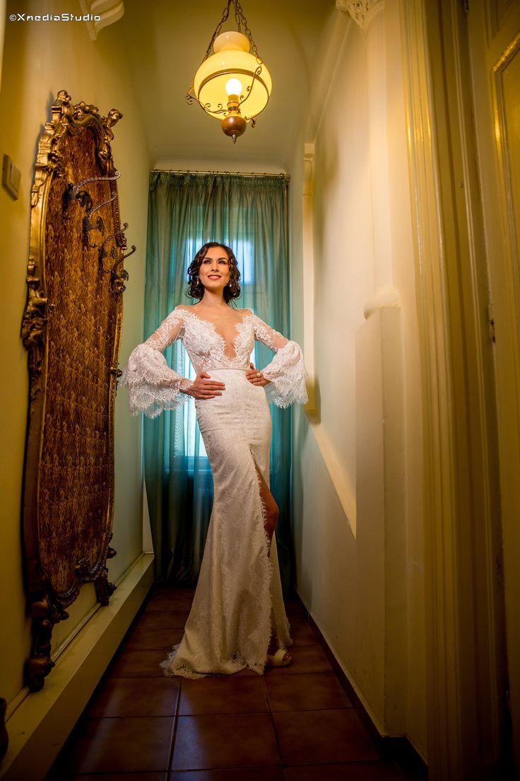 2018 Lace Wedding Dress Elegant Style Fashion by Laina. See more at www.fashionbylaina.eu