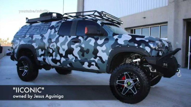 Toyota Tundra Quot Iiconic Quot Sema Las Vegas Carvans