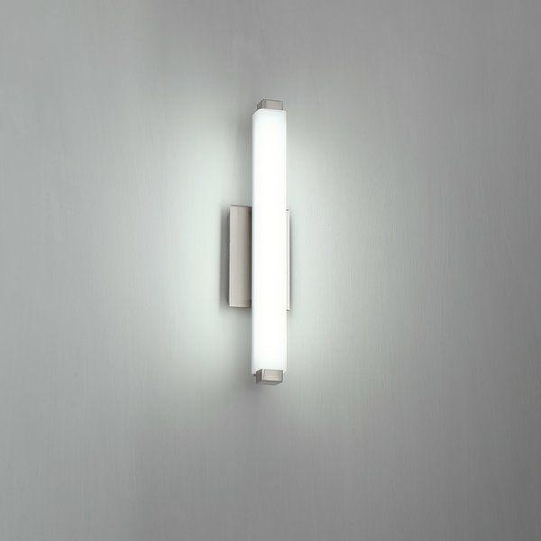Modern Forms Mini Vogue 1 Light Led Vanity Light Reviews Wayfair Led Vanity Lights Led Lights