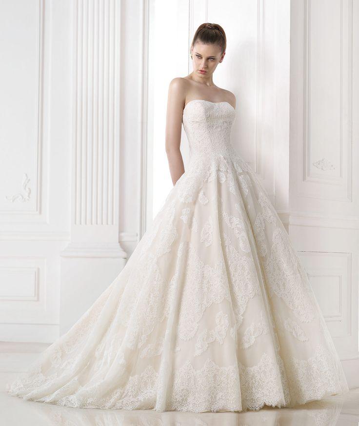 69 best Wedding Dresses images on Pinterest   Wedding frocks ...
