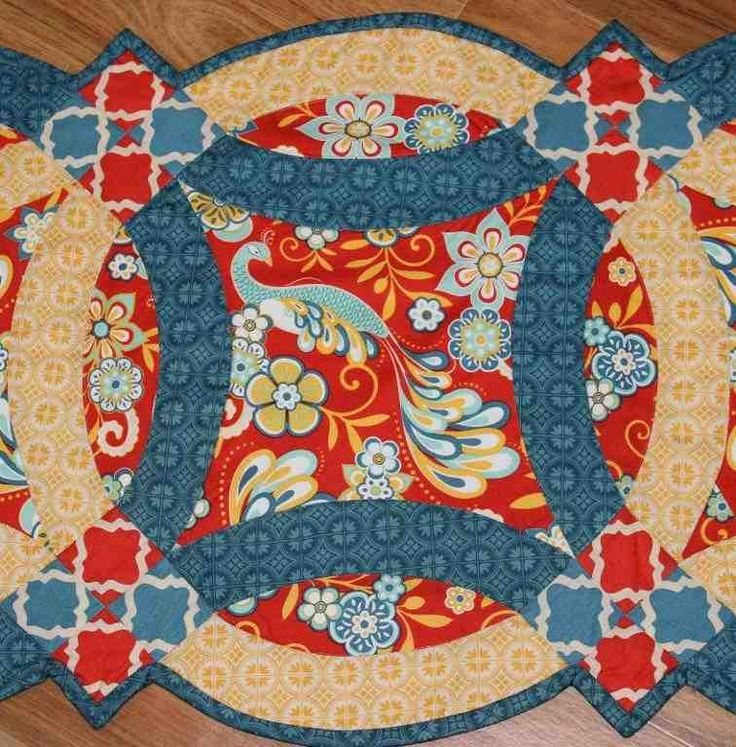 Easy Double Wedding Ring Quilt Pattern