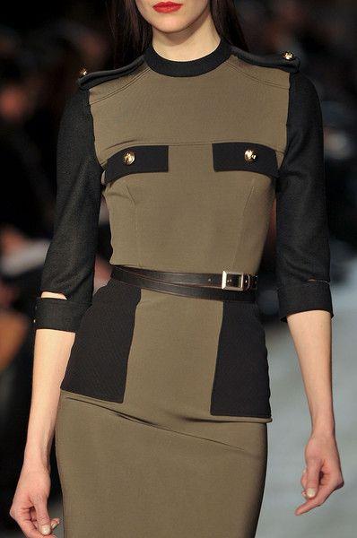 Victoria Beckham Fall 2012 - Details