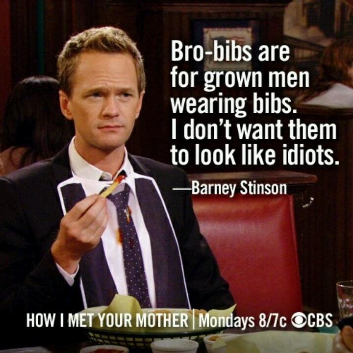 Barney...wait For It...Stinson