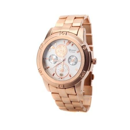 Oversized Mens Rose Gold Watch