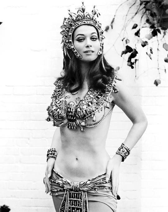 """Valerie Leon publicity for """"Blood From the Mummy's Tomb"""", 1971"""