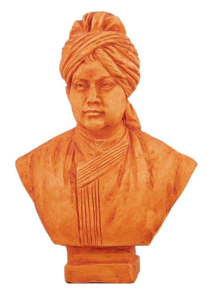 Swami Vivekananda (Terracotta)