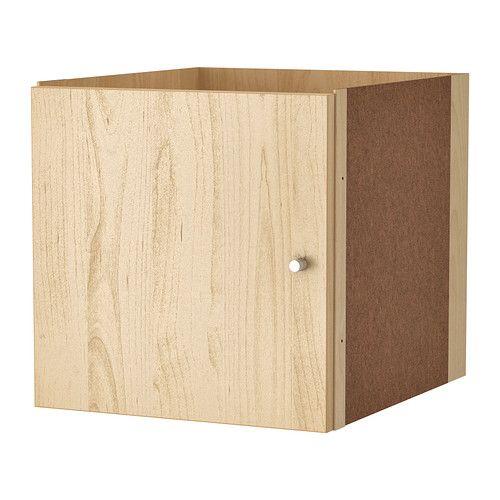 KALLAX Bloc porte IKEA La finition soignée à l'arrière permet d'utiliser la structure comme séparateur de pièce. Facile à monter.