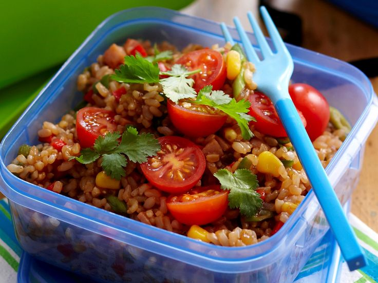 Fried rice is favourite with adults and children alike. This easy-cook version is great for school and work lunchboxes and picnics.