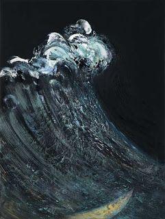 Maggi Hambling - New Sea Sculpture Paintings and Etchings