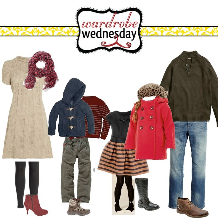 Wardrobe Wednesdays! New ideas for what to wear for pictures are posted each Wednesday!