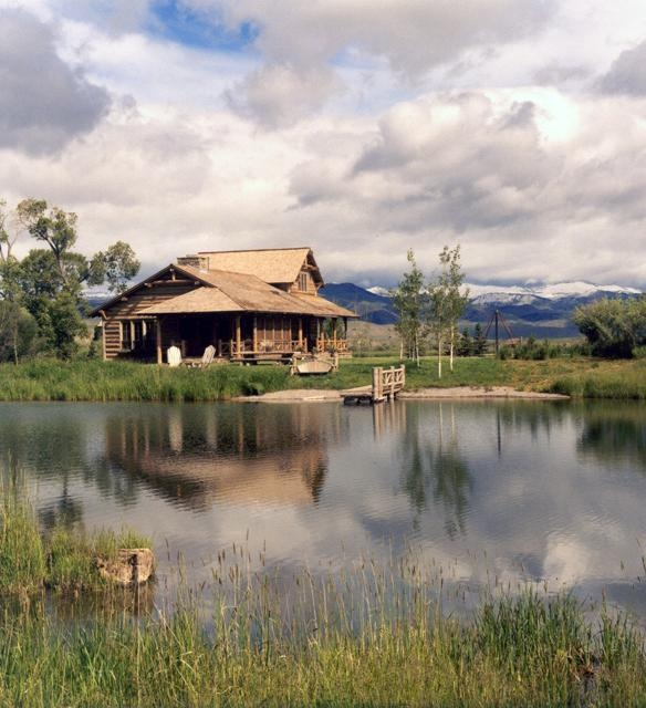 Cabin By The Lake Cabin In The Woods Pinterest