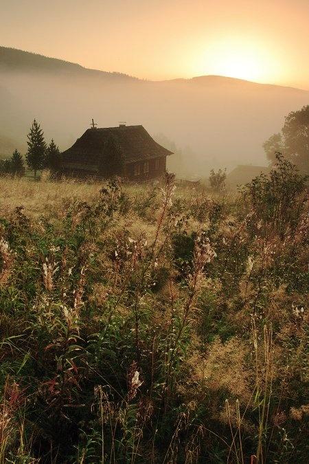 Slovak village (by Marek Švantner)