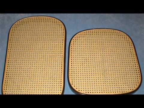 HOW TO : Repair Cane Seats on Bentwood Rockers