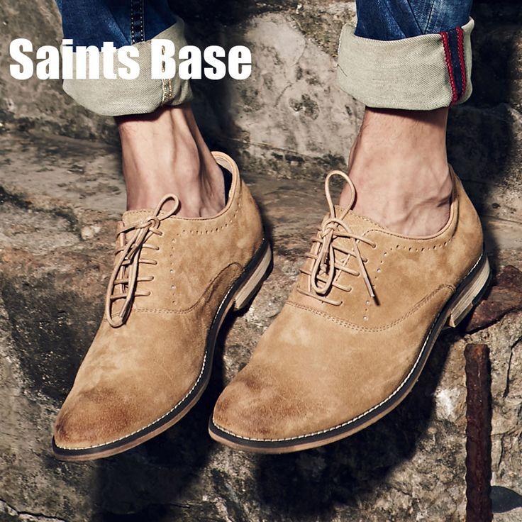 Осенью 2016 года новый Баллок резные мужская мода кожаные ботинки зашнуровать низкий размер Британский мужская бесплатный поставка