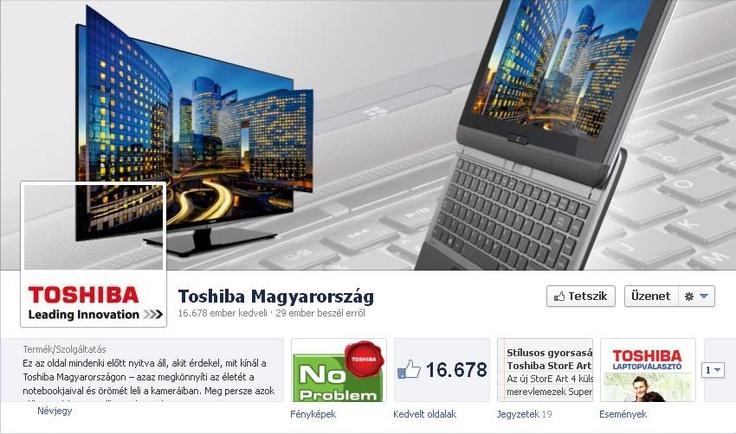 Toshiba Facebook