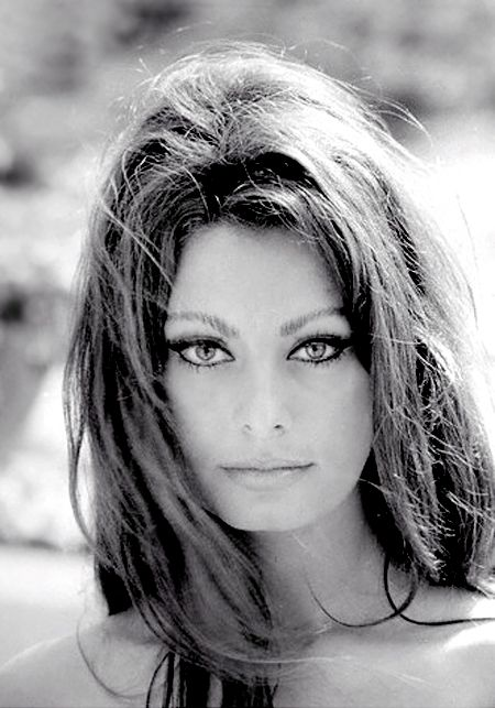 Sophia Loren. Just look at those eyes.