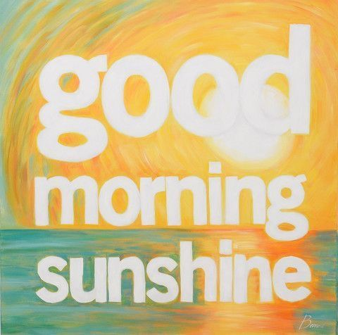 Positive Morning Wishes