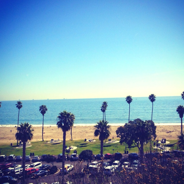 Santa Barbara City College. I love my school!! #IBetYouWishYouHadThisView
