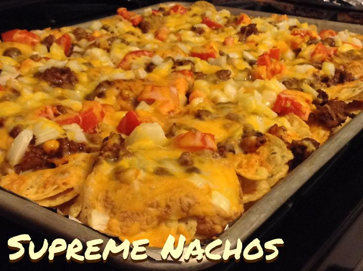Supreme Nachos|Night Owl Kitchen Original Recipe