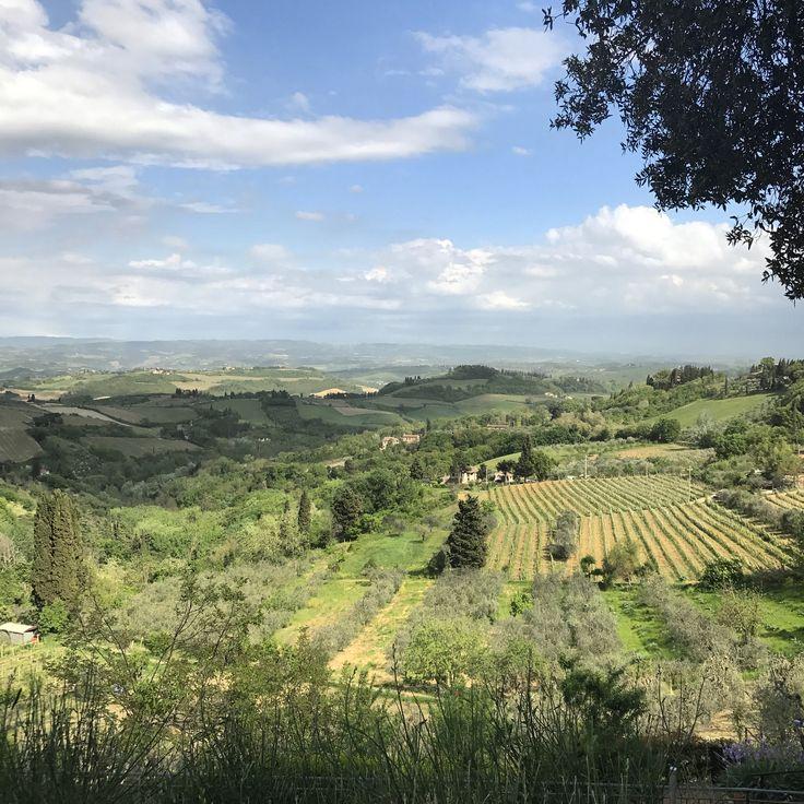 Hills of San Gimignano, Tuscany, Italy   @_shutterbug_bec_