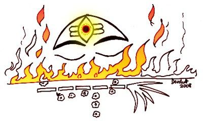 An insight into what Shiva's third eye stands for.