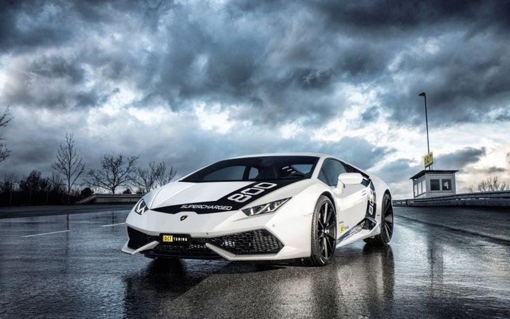 Latest Lamborghini Sports Car HD Desktop Wallpaper