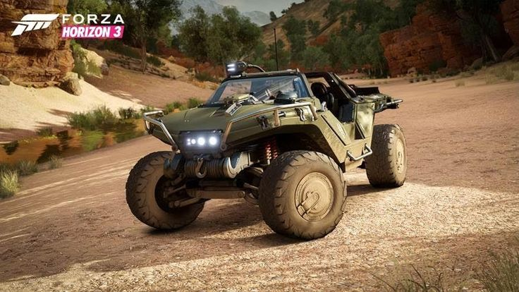 Forza Horizon 3 lets you joyride in Halo's Warthog     - CNET  Enlarge Image                                              Microsoft                                          The next-gen racing game Forza Horizon 3 went gone gold on Tuesday and with the final game off to be pressed onto disc comes another surprise for rev heads: Halos warthog another Microsoft mainstay will be making its way to the console-exclusive racing game.  The space-age off roader got a bit of a facelift to fit in…