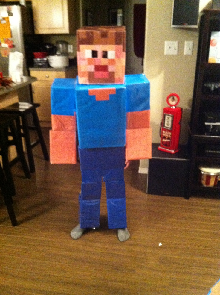how to make a minecraft pickaxe out of cardboard