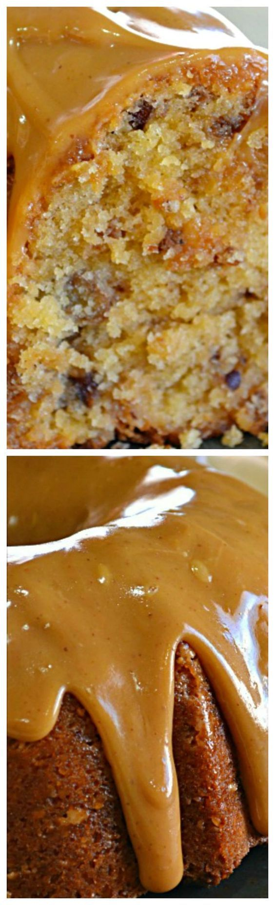 Brown Sugar Carmel Pound Cake ~ WONDERFUL caramel flavor and is VERY moist.