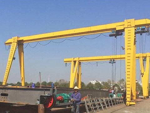 Outdoor single girder gantry crane has great design and simple